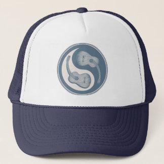 Classical Guitar Yin Yang Trucker Hat