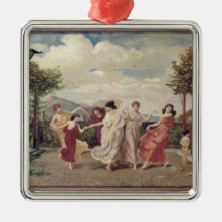 Classical Idyll (oil on canvas) Christmas Ornament