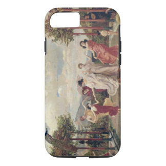 Classical Idyll (oil on canvas) iPhone 8/7 Case