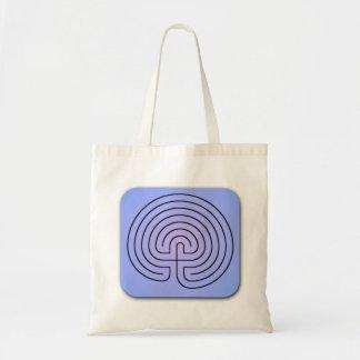 Classical Labyrinth Budget Tote Bag