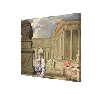 Classical Landscape Canvas Print