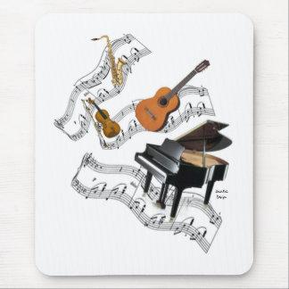 Classical Music Art Mouse Mat