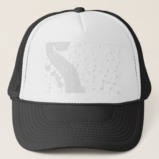 Classical Music Background Trucker Hat