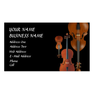 Classical - Music Business Card