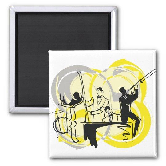 classical music illustration magnet