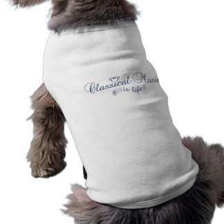 Classical Music pet clothing