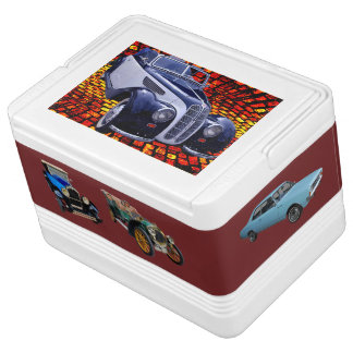Classical old timers igloo cool box