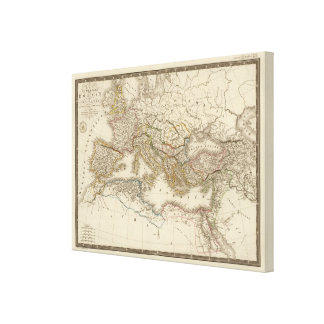 Classical Rome Eastern Hemisphere Canvas Print