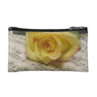Classical Rose Cosmetic Bag