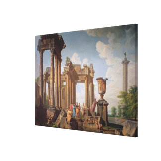 Classical Scene Canvas Print
