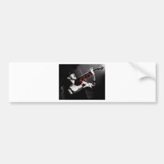 Classical Scream Bumper Sticker