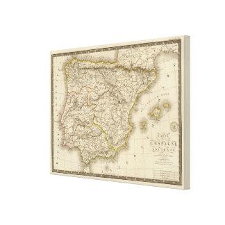 Classical Spain Portugal Canvas Print