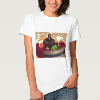 Classical Wine Art By Bill Abbott Shirts