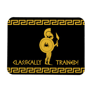 Classically Trained! Fridge Magnet