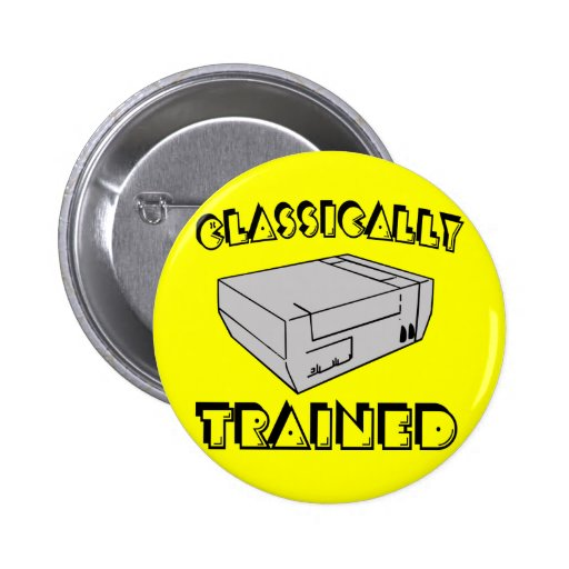 Classically Trained Fun Buttons