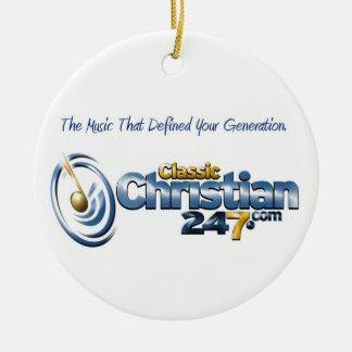ClassicChristian247.com Circle Ornament