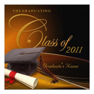 Classics Graduation Personalized Announcement