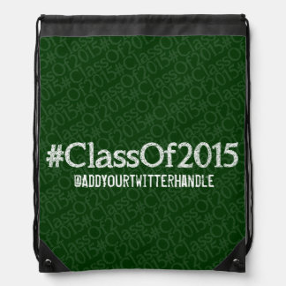 ClassOf2015 Customizable Drawstring Backpack