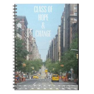ClassofHC NYC Street Promo Notebook