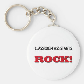 Classroom Assistants Rock Key Ring