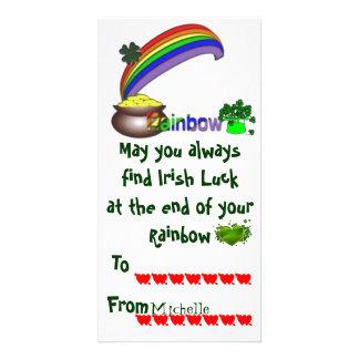 Classroom Irish Valentine Card