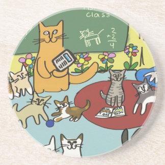Classroom Kittens Coaster