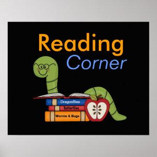Classroom Reading Corner Poster