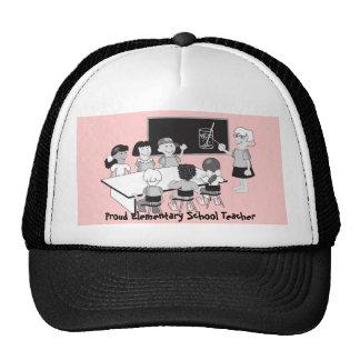 Classroom with teacher & students trucker hat