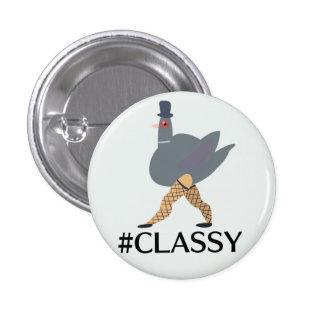 #CLASSY 3 CM ROUND BADGE