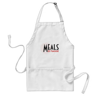 Classy and Customizable Apron with Polka Dots