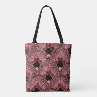 Classy Art Deco Fan Design Tote Bag