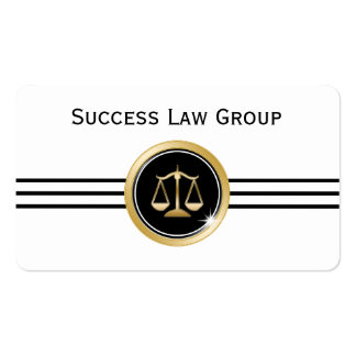 Classy Attorney Business Card Template