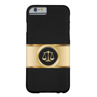 Classy Attorney Theme Barely There iPhone 6 Case