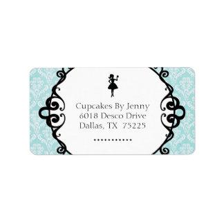 Classy Bakery Return Address Label