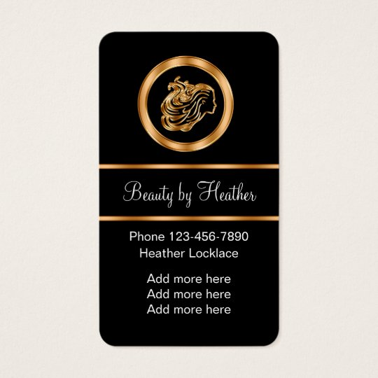 Classy Beauty Business With Appointment Card