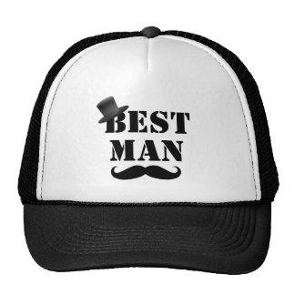 Classy Best Man Cap