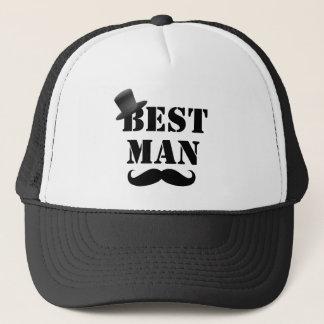 Classy Best Man Trucker Hat