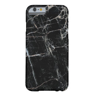 Classy Black Marble iPhone 6 case Barely there