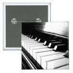 Classy Black & White Piano Photography Pins