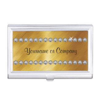 Classy Bling Business Card Case