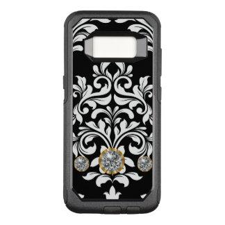 Classy Bling Damask OtterBox Commuter Samsung Galaxy S8 Case