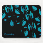 Classy Blue Pedals Mouse Pad