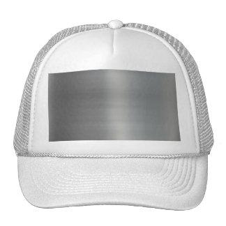Classy Brushed Metal Textured Trucker Hats