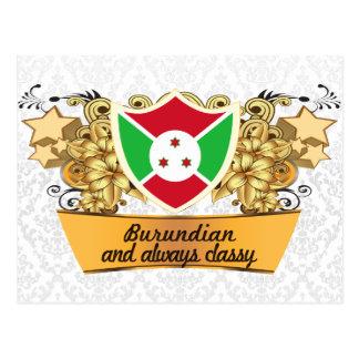 Classy Burundian Postcard