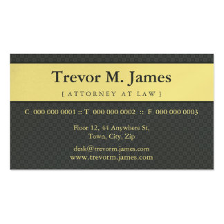 CLASSY BUSINESS CARD :: stately 1L