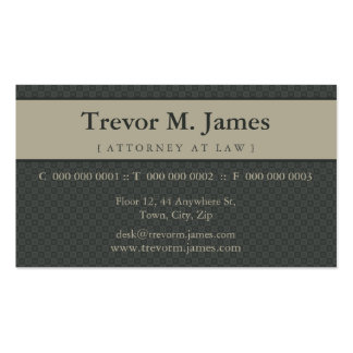 CLASSY BUSINESS CARD :: stately 4L