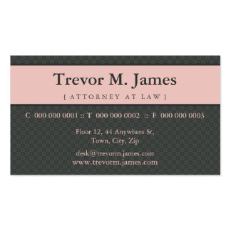 CLASSY BUSINESS CARD :: stately 6L