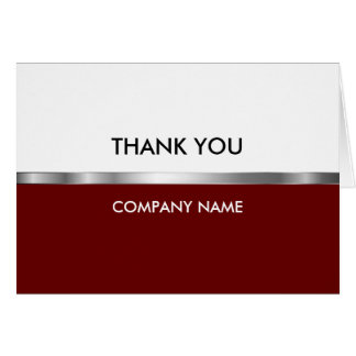 Classy Business Thank You Cards