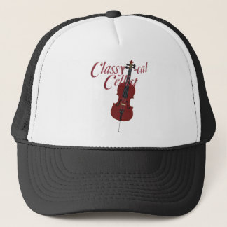 Classy-cal Cellist Trucker Hat