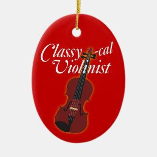 Classy-cal Musician Christmas Ornament
